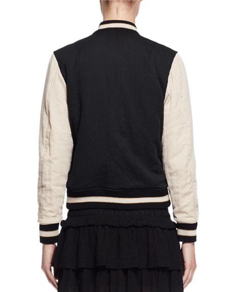 Dabney Reversible Cotton Bomber Jacket