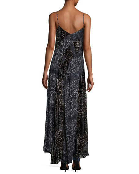 Off the Beaten Track Paisley Maxi Dress, Psycho Burn Out