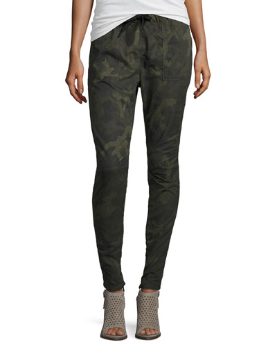 Denny Camouflage Jogger Pants