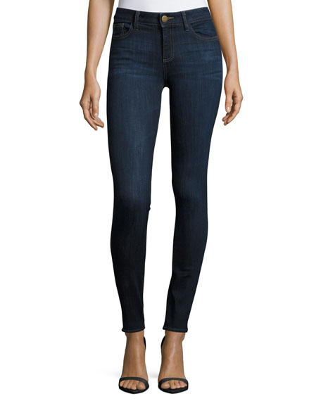 DL1961 Premium Denim Florence Instasculpt Skinny Jeans, Pulse