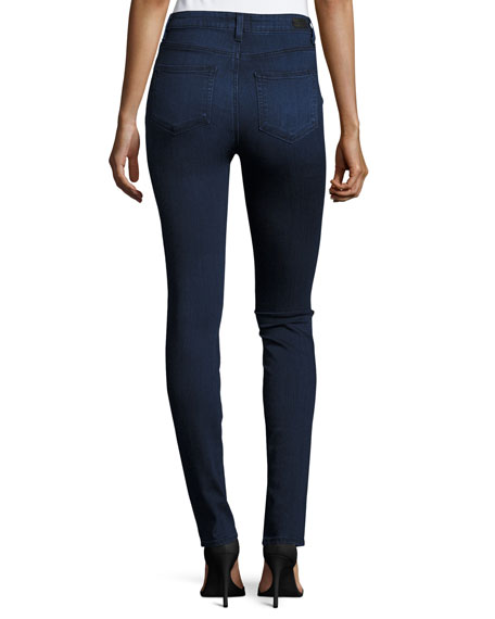 Edgemont Ultra-Skinny High-Rise Jeans, Amalia
