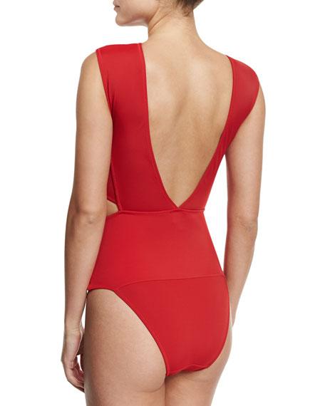 Chiara Cutout Bandage One-Piece Swimsuit