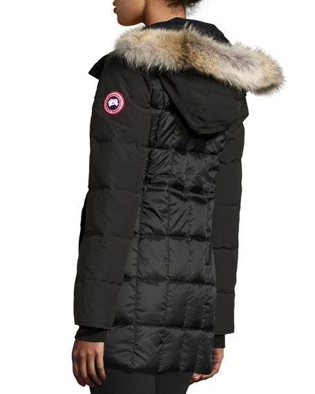canada goose beechwood fur-trimmed parka