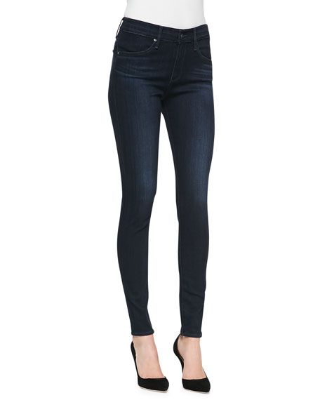 AG The Farrah High-Rise Skinny Jeans, Brooks