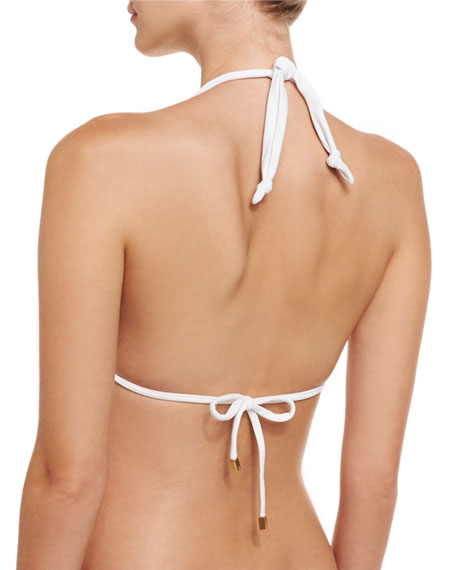 Bia Solid Swim Top, White (Available in Extended Cup Size)
