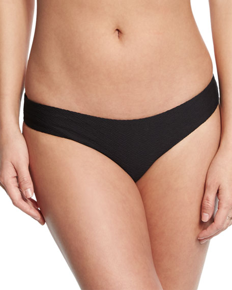Lily Textured Solid Hipster Swim Bottom