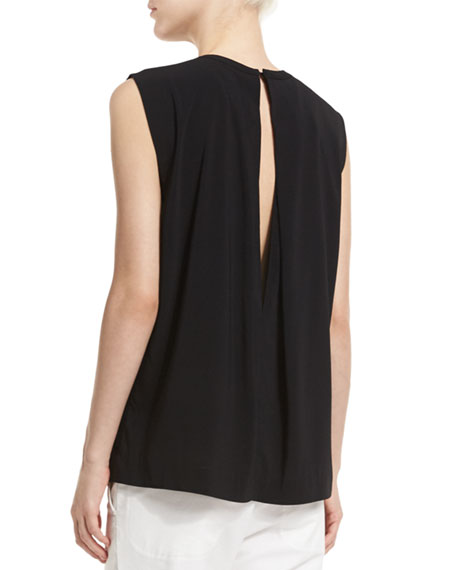 Split-Back Shell, Black