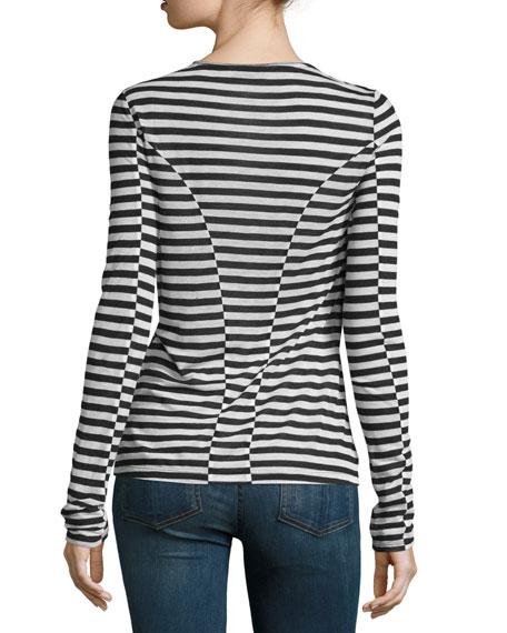 e48f0481b0 Rag & Bone Arrow Striped Long-Sleeve T-Shirt