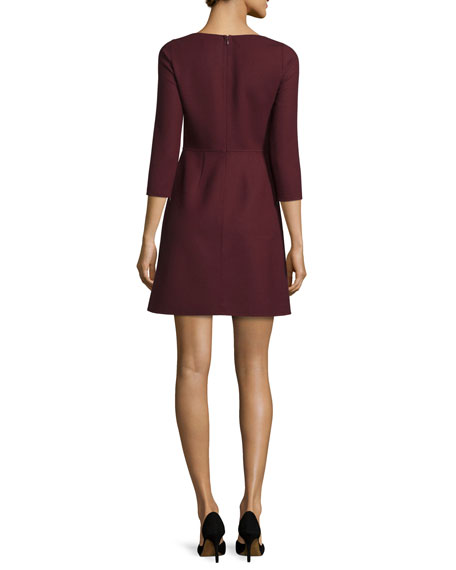 Kamillina Saxton 3/4-Sleeve Dress