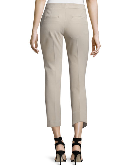 Finley Slim-Fit Ankle Pants