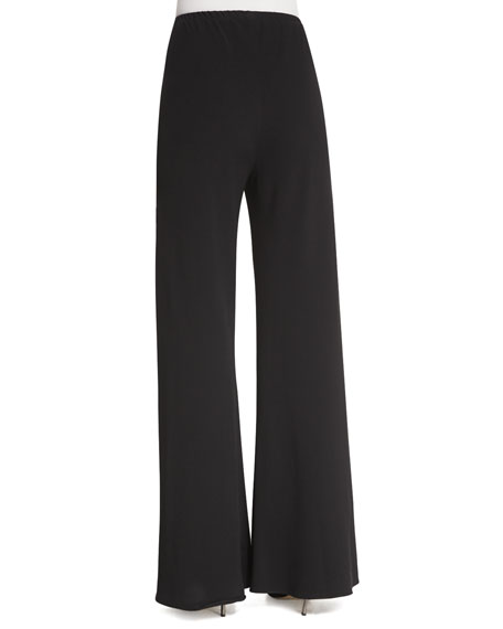 Gala Straight-Leg Cady Pants