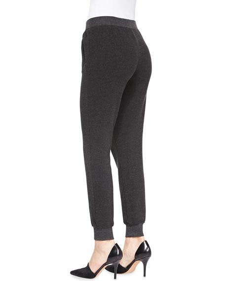 Slim Cuffed Pull-On Sweatpants