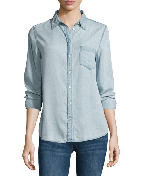 Mercer & Spring Chambray Shirt, Bleach