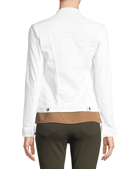 Celine Button-Front Denim Jacket