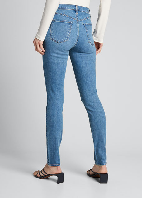 Maria High-Waist Skinny Jeans, Decoy Destruct