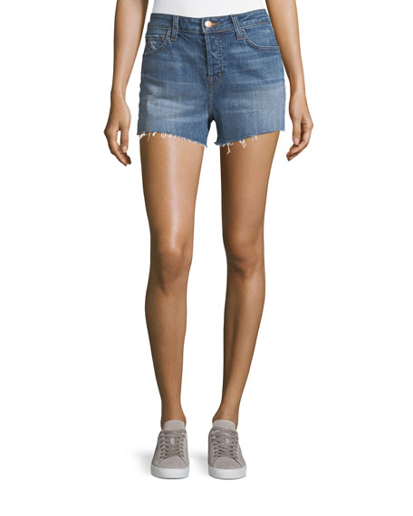 Gracie High-Rise Shorts, Metropolis