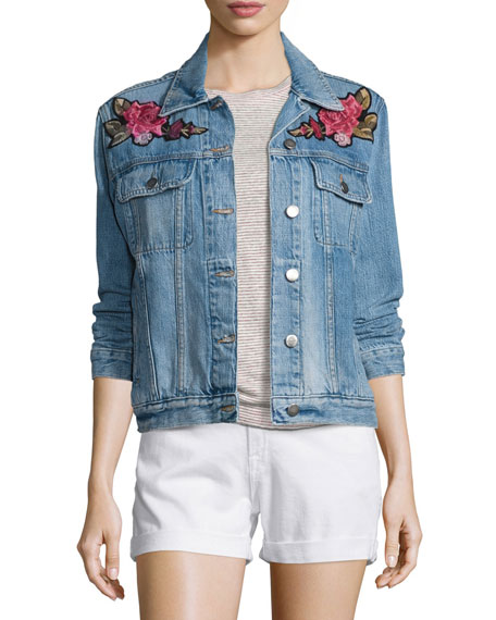 Le Original Patch Jacket, Rose Water