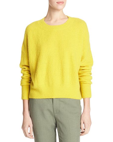 Plush Easy Crewneck Sweater