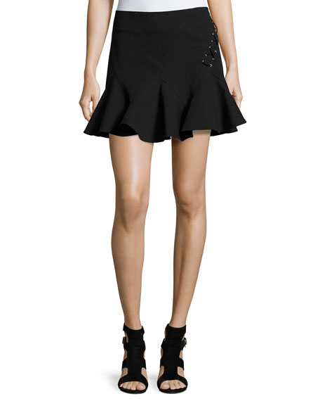 Derek Lam 10 Crosby Stretch Jersey Fit-and-Flare Mini
