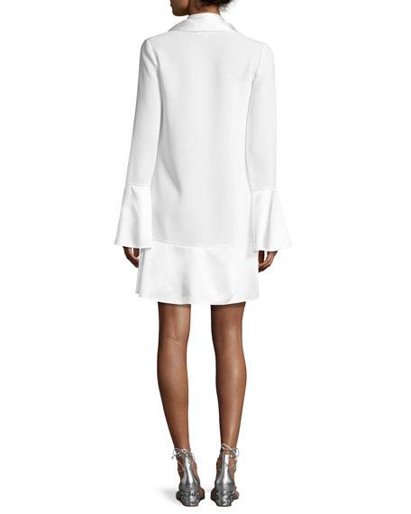 Rya Bell-Sleeve Shift Dress