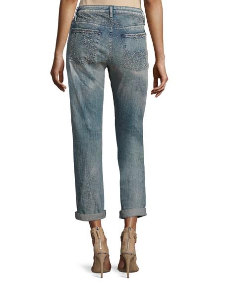 Charlotte Mid-Rise Boyfriend Jeans, Al Rosace