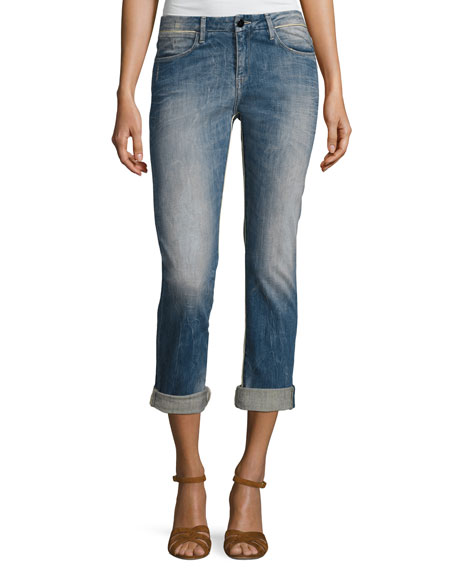 Brockenbow Charlotte Mid-Rise Boyfriend Jeans, Intemporel Indigo