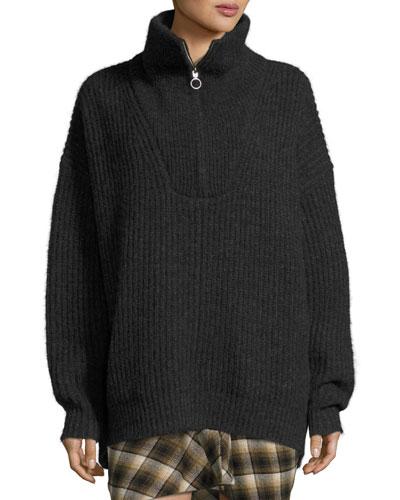 Declan Half-Zip Pullover Sweater