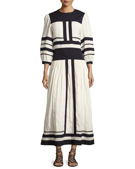 Lyin Colorblock Midi Dress