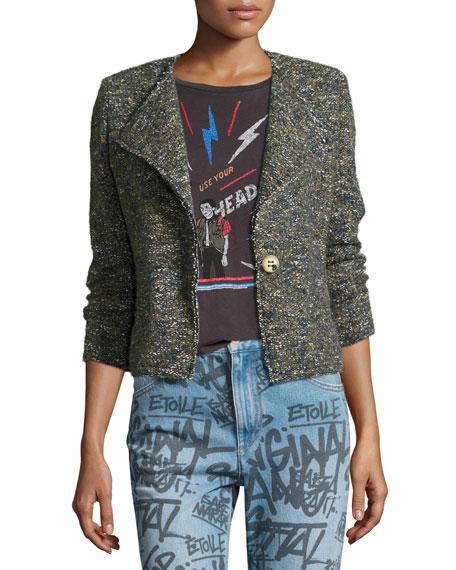 Orson Single-Button Tweed Jacket