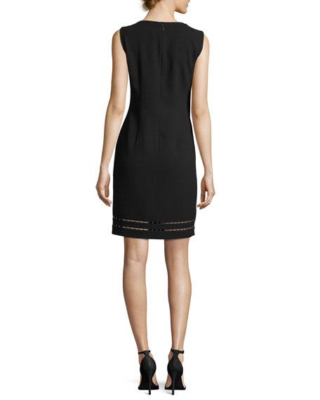 Carol Sleeveless Cutout Sheath Dress