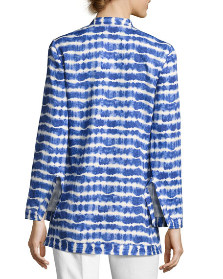 Tie-Dye Cotton Tunic, Multi