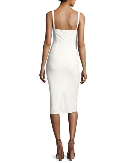 Leila Sleeveless Stretch Cocktail Dress