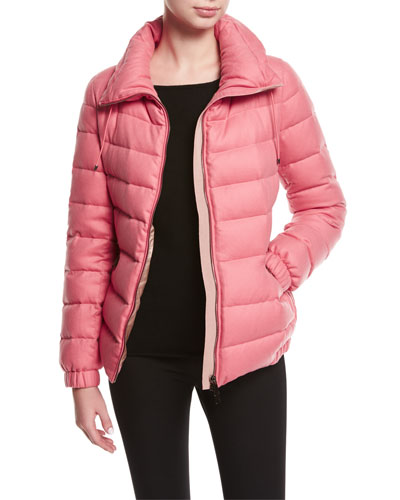 Irex Short Quilted Puffer Jacket