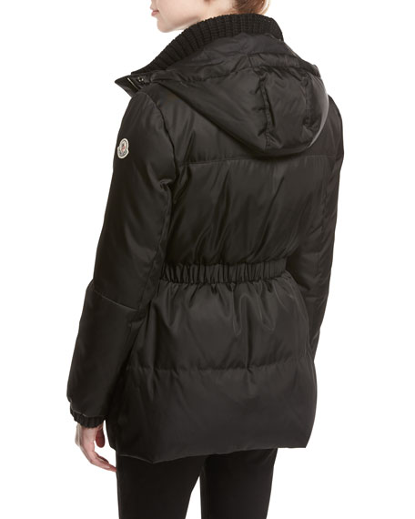 Fatsia Quilted Puffer Coat