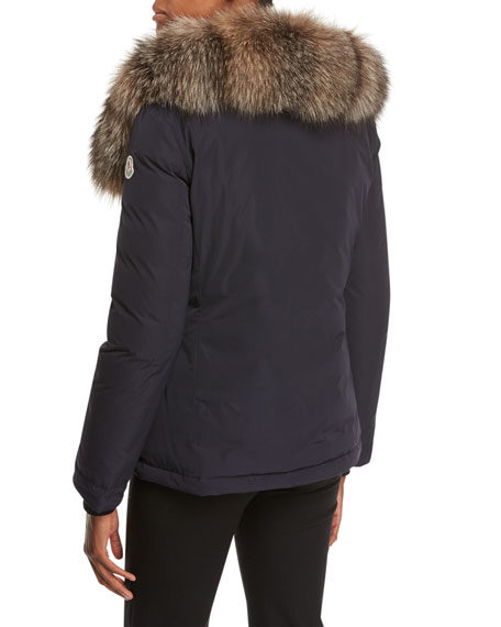 Malus Fur-Trim Puffer Jacket