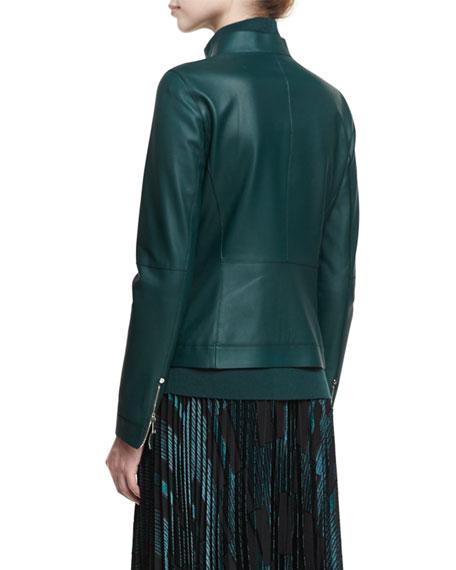 Warren Leather Moto Jacket
