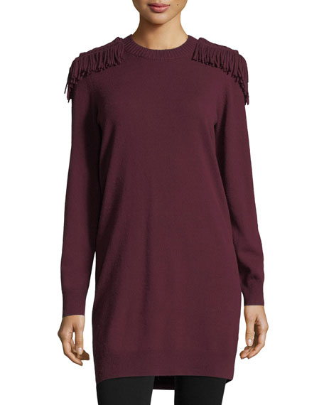 Military Braid Sweaterdress