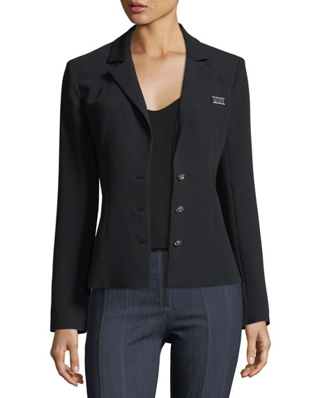 Pax L'amour Embroidered Tailored Blazer Jacket
