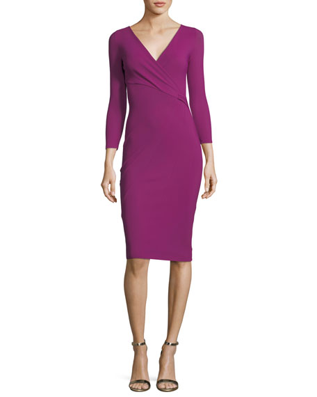 Antheia Long-Sleeve Cocktail Dress