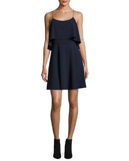 Kipp Layered Ruffle Short Dress