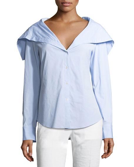 Doherty Wide-Collar Shirt