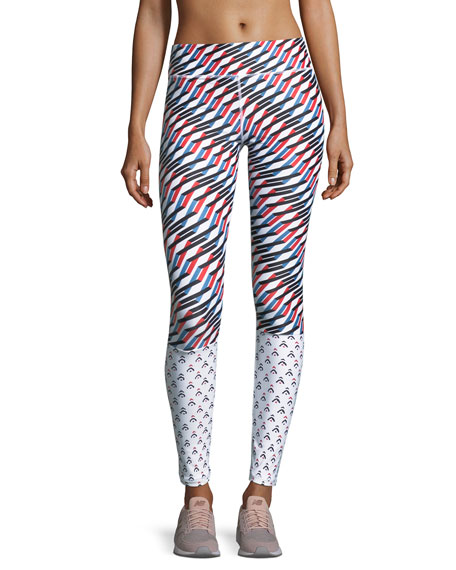 Mystic Keys Printed Yoga Pants