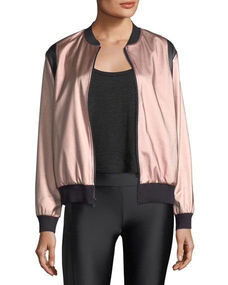 JOHNSON SATEEN BOMBER JACKET
