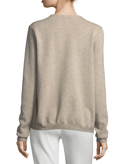 Richardson Metallic-Knit Sweater