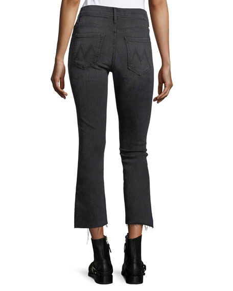 Insider Crop Step-Fray Denim Jeans