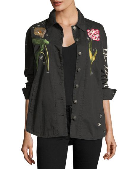 Botanical Canyon Embroidered Jacket