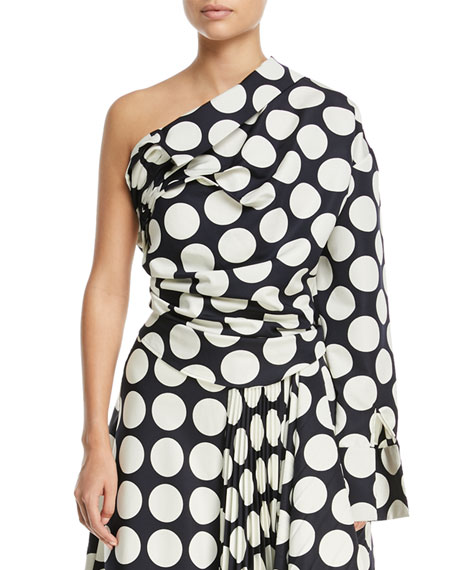 Giant Polka-Dot Twisted Top