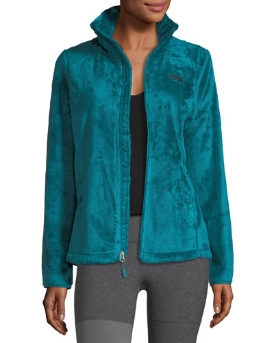 Osito Zip-Front Fleece Performance Jacket, Blue