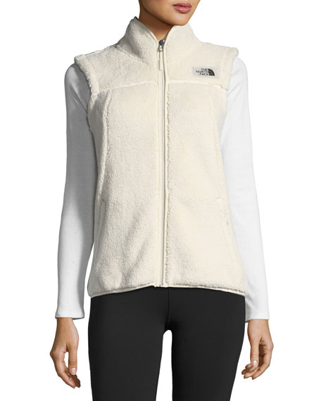 Campshire Zip-Front Performance Vest, Off-White