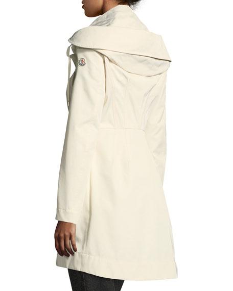 Audrey Long Utility Coat w/ Hood